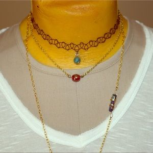 Jewelry - Choker and Body Chain Set